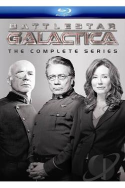 Battlestar Galactica - The Complete Series BRAY Cover Art
