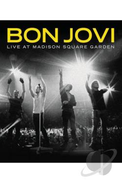 Bon Jovi: Live at Madison Square Garden DVD Cover Art