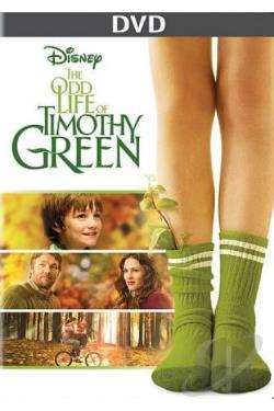 Odd Life of Timothy Green DVD Cover Art