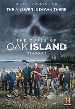 curse of oak island season 2 dvd movie