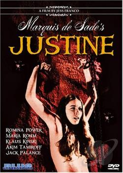 Deadly Sanctuary: Marquis De Sade: Justine DVD Cover Art
