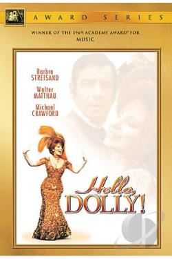 Hello, Dolly! DVD Cover Art