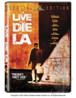 To Live and Die in L.A. DVD Cover Art