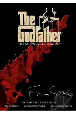 Godfather: The Coppola Restoration - The Godfather/ The Godfather, Part II/ The Godfather, Part III DVD Cover Art