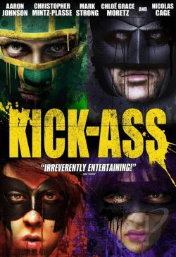 Kick-Ass DVD Cover Art