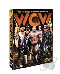 WWE: The Very Best of WCW Monday Nitro, Vol. 2 DVD Cover Art