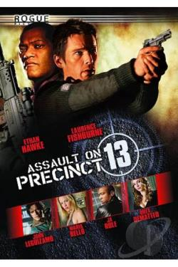 Assault on Precinct 13 DVD Cover Art