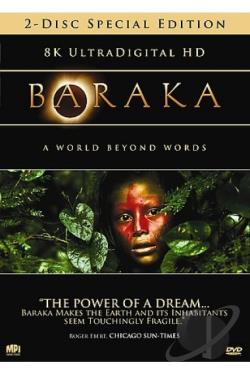 Baraka DVD Cover Art