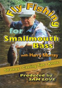 Fly Fishing for Small Mouth Bass with Harry Murray DVD Cover Art