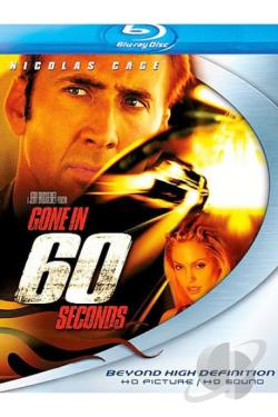 Gone in 60 Seconds BRAY Cover Art
