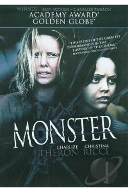 Monster DVD Cover Art