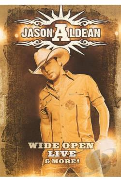 Jason Aldean: Wide Open Live and More DVD Cover Art