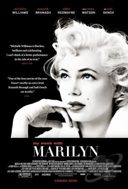 My Week with Marilyn DVD Cover Art