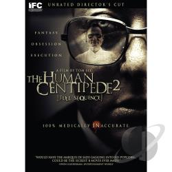 Human Centipede II: Full Sequence DVD Cover Art