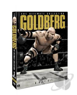 WWE: Goldberg - The Ultimate Collection DVD Cover Art