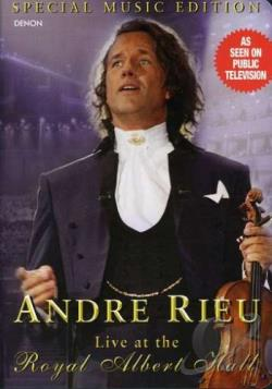 Andre Rieu - Live At The Royal Albert Hall DVD Cover Art