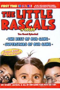 Little Rascals in Color DVD Cover Art