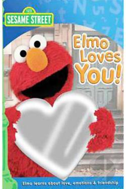 Sesame Street - Elmo Loves You! DVD Cover Art