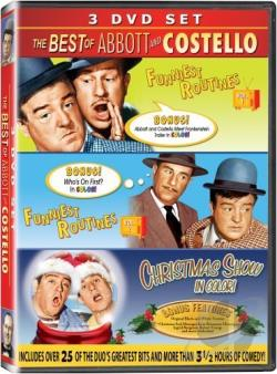 Abbott & Costello - Funniest Routines: Vols. 1 & 2 DVD Cover Art
