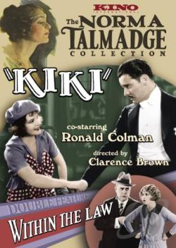 Kiki/Within the Law DVD Cover Art