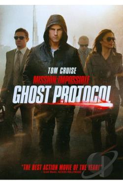 Mission: Impossible - Ghost Protocol DVD Cover Art