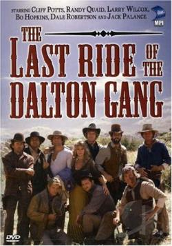 Last Ride Of The Dalton Gang DVD Cover Art