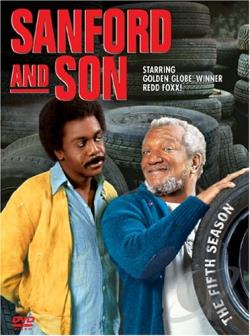 Sanford and Son - The Fifth Season DVD Cover Art