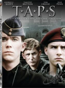 Taps DVD Cover Art