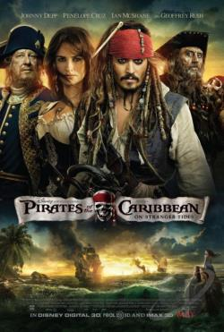 Pirates of the Caribbean: On Stranger Tides DVD Cover Art
