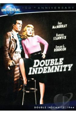 Double Indemnity DVD Cover Art