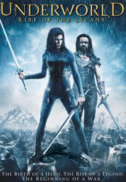 Underworld: Rise of the Lycans DVD Cover Art