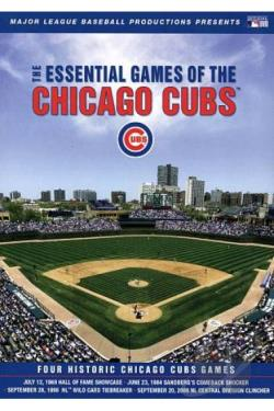 MLB: The Essential Games of the Chicago Cubs DVD Cover Art