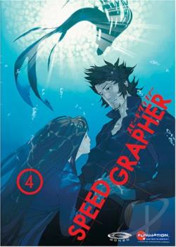 Speed Grapher - Vol. 4 DVD Cover Art