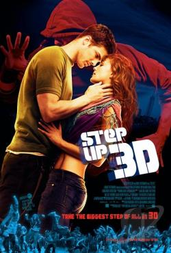 Step Up 3D DVD Cover Art