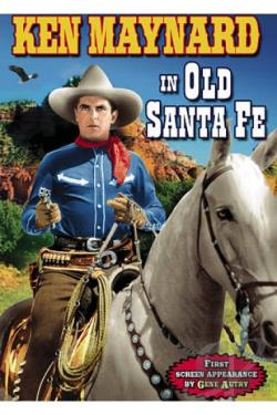 In Old Santa Fe DVD Cover Art