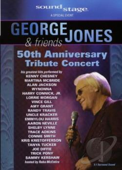 George Jones & Friends - 50th Anniversary Tribute Concert DVD Cover Art