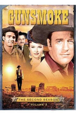 Gunsmoke - The Second Season, Volume 2 DVD Cover Art