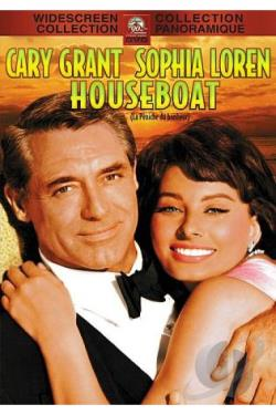 Houseboat DVD Cover Art