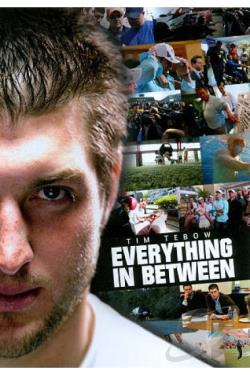 Tim Tebow: Everything in Between DVD Cover Art