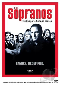 Sopranos - The Complete Second Season DVD Cover Art