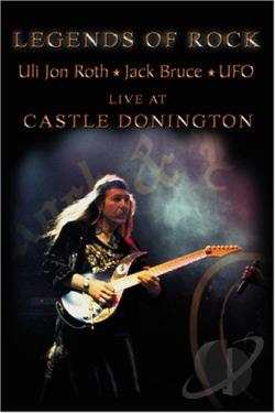 Uli Jon Roth - Legends of Rock - Live at Castle Donington DVD Cover Art