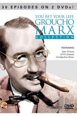 You Bet Your Life Groucho Marx Collection DVD Cover Art