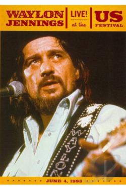 Waylon Jennings: Live at the US Festival 1983 DVD Cover Art