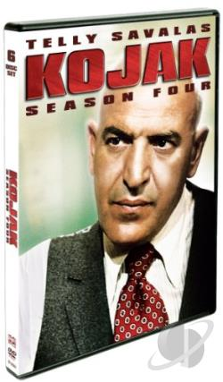 Kojak: Season Four DVD Cover Art