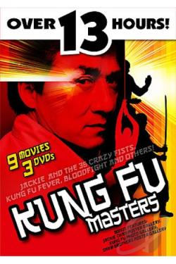 Kung Fu Masters DVD Cover Art