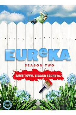 Eureka - The Complete Second Season DVD Cover Art