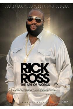 Rick Ross: The Art of Words - Unauthorized DVD Cover Art