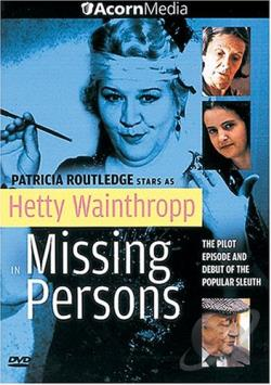 Hetty Wainthropp Missing Persons DVD Cover Art