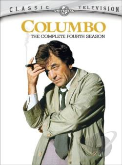 Columbo - The Complete Fourth Season DVD Cover Art
