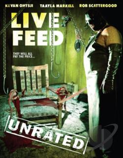Live Feed DVD Cover Art